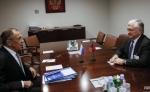 Էդվարդ Նալբանդյանը հանդիպել է Սերգեյ Լավրովի հետ