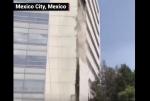 Ինչպես է Մեքսիկայում շենքը սկսել փուլ գալ երկրաշարժի հետևանքով