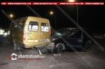 Մարզահամերգային համալիրի մոտ բախվել են թիվ 37 երթուղին սպասարկող Газель-ը և Opel-ը. կան վիրավորներ