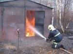 Пожар на улице Шерама