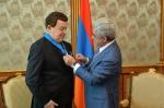 Սերժ Սարգսյանը պարգևատրել է Իոսիֆ Կոբզոնին