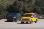 Ռուսական ավտոմեքենան՝ Լոս Անջելեսի փողոցներում