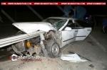 40-ամյա վարորդը KIA-ով մխրճվել է երկաթե արգելապատնեշի մեջ. կա վիրավոր