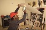 Աֆրիկացի նկարչի յուրօրինակ կրակե ստեղծագործությունները