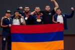 ՀՀ ծանրամարտի երիտասարդների հավաքականը Եվրոպայի առաջնությունից վերադարձել է 32 մեդալով