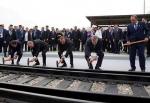 Բացվել է Բաքու-Թբիլիսի-Կարս երկաթուղին (ֆոտոշարք)