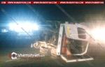 Արագածոտնի մարզում բախվել են Volkswagen-ն ու մարդատար Газель-ը, վերջինը կողաշրջվել է. կա 6 վիրավոր