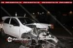 Բաղրամյան պողոտայում ճակատ-ճակատի բախվել են Chevrolet-ը ու 09-ը, վերջինը բախվել է նաև Opel-ին և Volkswagen-ին․ կան վիրավորներ