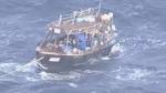 Հյուսիսային Կորեայից ալիքներն այս նավը հասցրել են Ճապոնիայի ափ