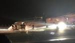 Վարշավայում ինքնաթիռը վայրէջք է կատարել առանց առջևի շասսիի