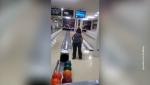 Բոուլինգ խաղացող բրազիլուհին կոտրել է հեռուստացույցի էկրանը