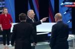 Ժիրինովսկին վեճի է բռնվել ուղիղ եթերում, բռունցքով հարվածել սեղանին