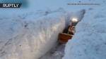 Բուլդոզերն ընդդեմ ձյան․ Ֆրանսիայում ձնահոսքի հետևանքները