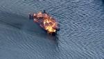 Ֆլորիդայում լողացող խաղատուն է այրվել