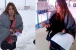 Զարուհի Փոստանջյանին թույլ չեն տվել անցնել Բավրայի անցակետը (տեսանյութ)