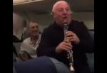 Հայերը քեֆ են արել ինքնաթռում․ նվագել և պարել են