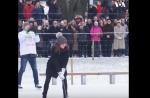 Անգլիայի արքայազն Ուիլյամը և դքսուհի Քեյթը Շվեդիայում բենդի են խաղացել