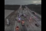 Միսսուրիում 50 ավտոմեքենա միաժամանակ վթարի է ենթարկվել