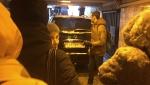 Պետերբուրգում «Ջիպը» մտել է մետրոյի ստորգետնյա անցումի մեջ (տեսանյութ)