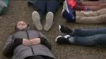 Վաշինգտոնում պառկած ցույցեր են անցկացվում