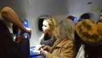 «Պատգամավորի կինն» անկարգություններ է կատարել ինքնաթիռում (տեսանյութ)