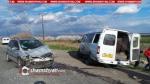 Չարբախ-Մասիս ճանապարհին բախվել են Opel Zafira-ն ու մարդատար Газель-ը. կա վիրավոր