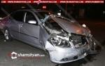 Բացառիկ տեսանյութ՝ Երևանում Nissan-ների մասնակցությամբ տեղի ունեցած խոշոր ավտովթարից