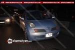Մյասնիկյան պողոտայում մի քանի մետր հեռավորության վրա տեղի է ունեցել 3 վթար. վնասվել է 7 ավտոմեքենա