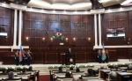 Ադրբեջանի Միլլի մեջլիսում տեղի է ունենում Իլհամ Ալիևի երդմնակալության արարողությունը