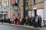 Լոնդոնի հայ համայնքը ցույց է իրականացրել (տեսանյութ)