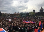 Այսօր հանրահավաքը Գյումրիում էր, մինչ այդ՝ ավտոերթ իրականացվեց (տեսանյութ)