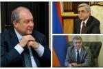 Արմեն Սարգսյանը հանդիպումներ է ունեցել Սերժ Սարգսյանի և Կարեն Կարապետյանի հետ