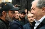 Նիկոլ Փաշինյանը կրկին հանդիպել է Արմեն Սարգսյանի հետ
