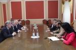 Խորհրդարանում կայացել է Նիկոլ Փաշինյանի հանդիպումը ռուս պատգամավորների հետ