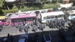 Ոստիկանական ուժեր են կենտրոնացրել Երևանում (տեսանյութ)