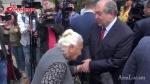 Շատ հազվադեպ ազգանուն է. Արմեն Սարգսյանը հանդիպեց ՀՀԿ տատիին