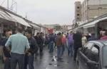 Բողոքի ակցիա Սուրմալու առևտրի կենտրոնում (տեսանյութ)