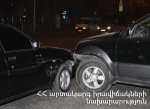 ՃՏՊ Դավիթ Անհաղթի և Կարապետ Ուլնեցու փողոցների խաչմերուկում. կա տուժած
