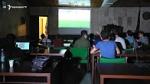 ԵՊՀ-ում գիշերած ուսանողները ֆուտբոլ են դիտել