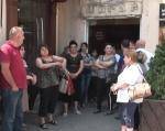 Ոսկու շուկայի աշխատակիցները բողոքի ակցիա են իրականացնում (տեսանյութ)