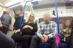 Լոնդոնի մետրոյում ոչ բոլորն են իրենց տեղը զիջում հղի կնոջը