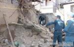 Արշակունյաց պողոտայում շենքը մասամբ փլուզվել է․ կան տուժածներ