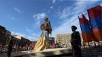 Երևանում բացվել է Արամ Մանուկյանի արձանը