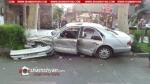 Բացառիկ տեսանյութ Երևանում տեղի ունեցած խոշոր ավտովթարից