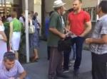 Արթուր Մովսիսյանի աջակիցները փակել են Վճռաբեկ դատարանի մուտքը (տեսանյութ)