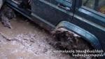 Ազատի ջրամբարի մոտակա ճահճային հատվածում ավտոմեքենա է արգելափակվել. ներսում՝ քաղաքացիներ