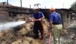 Ներքին Չարբախում 6-ամյա երեխա է այրվել. կադրեր դեպքի վայրից