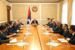 Բակո Սահակյանն անվտանգության խորհրդի նիստ է հրավիրել