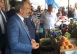 Նիկոլ Փաշինյանը գնացել է շուկա (տեսանյութ)