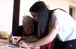100-ամյա Հայկանդուխտ տատիկը անձնագիր ստացավ